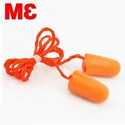 1 Pair 3M-1100 Foam Ear Plugs Defenders Protectors for Sleep