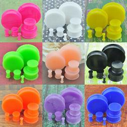 1 Pair Multi-color Glow in the Dark Soft Silicone Flexible E