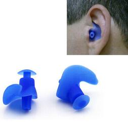 1 Pair Silicone Ear Plugs Anti Noise Earplugs Reusable For S
