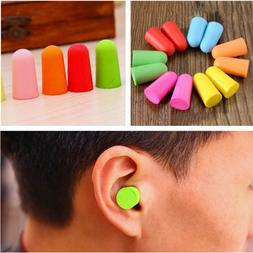 10 Pairs Soft Foam Ear Plugs Tapered Travel Sleep Noise Prev