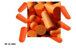 10~200 Pairs Uncorded Disposable Soft Polyurethane Foam Ear