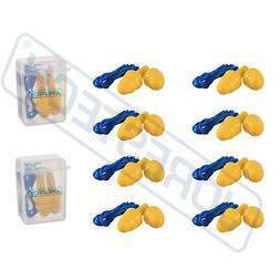 10 Pcs Soft Silicone Ear Plug Reusable Hearing Protection Ea