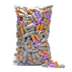 200 Pairs 400 count Soft Foam Ear Plugs Noise Reduction Earp