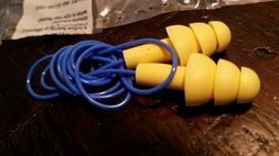 1270 soft silicone corded reusable ear plugs