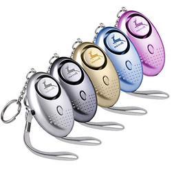 Deeram 5 Pack 150 DB Emergency Personal Alarm Self-Defense S