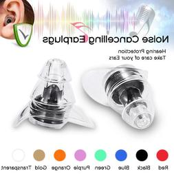 20DB Noise Cancelling Ear Plugs Concerts Musicians Motorcycl