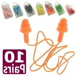 20PC Hearing Protection 33dB Noise Reduction Ear Plugs Hunti