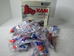 25 Pair Individually Wrapped Howard Leight MAX-1 Soft Foam E