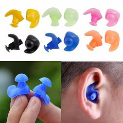 2Pairs Set Silicone Ear Plugs Anti Noise Earplugs Waterproof