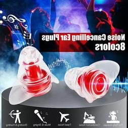 2Pc Safety Noise Cancelling Ear Plugs Hearing Protection Mus
