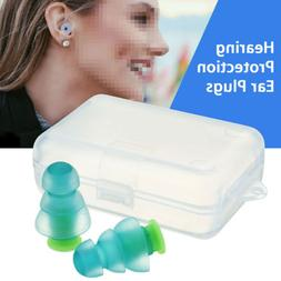 2pcs Earplugs For Concerts Musicians Motorcycles Noise Cance