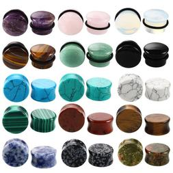 2PCS/Lot Stone <font><b>Ear</b></font> <font><b>Plugs</b></f