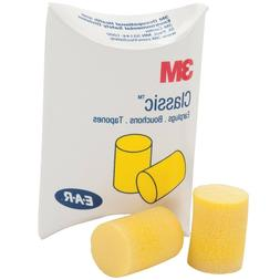 3M 310-1001 EAR Classic Uncorded Earplugs Individually Boxed