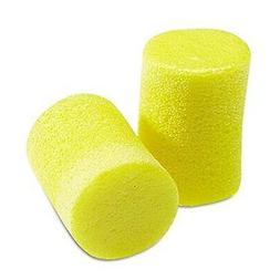 3M 3101060 Classic Ear Plugs Pillow Paks Uncorded Foam Yello