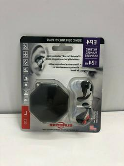 SureFire EP4 Sonic Defenders Plus filtered Earplugs, triple