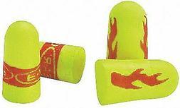 Aearo 33dB Disposable Bullet-Shape Earplugs; Corded, Yellow,