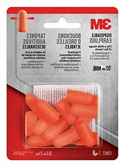 3m disposable earplugs 7 pair