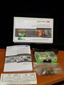 3M PELTOR Electronic Ear Plug, Green, EEP-100 - WITH SKULL S