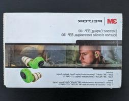 3M PELTOR EEP-100 Earplug Kit, Rechargeable, Noise Reduction
