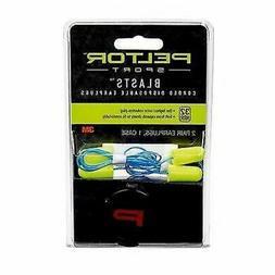 3M Peltor Sport Blasts Disposable Earplugs, Corded, 2-Pair,