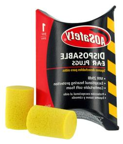 AOSafety 90581– USA MADE Uncorded Disposable Earplugs  1 p