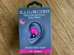 Decibullz - NRR 31 Custom Molded Earplugs, Perfect Fit Ear P