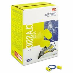 3M Aearo E-A-R Ear Plugs Classic Plus Yellow 200 pairs NRR 2