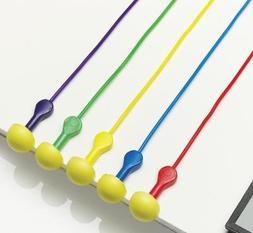 Aearo E-a-r Express Pod Plugs W/ Grips And Cord Multicolor -