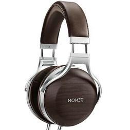 Denon AH-D5200 Zebrawood Over-Ear Premium Headphones