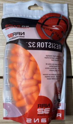 Radians Bag of Uncorded Plugs , Orange