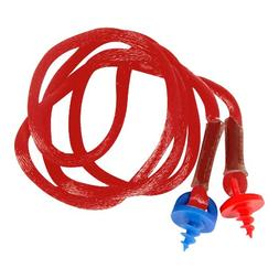 Radians CEPNC-R Custom Molded Earplugs Red Neckcord With Red