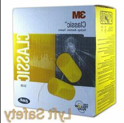 Classic smaller diameter ear plugs, 1 pair per pillow pak, 2
