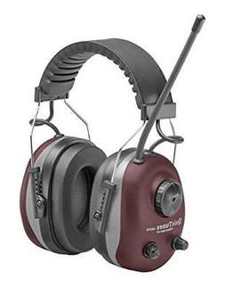 Elvex COM-660 QuieTunes AM/FM Stereo Ear Muff, Burgundy