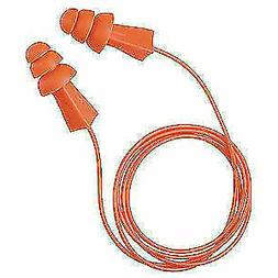 TASCO 9010 Corded Ear Plugs, 27dB Rated, Reusable Flanged Sh