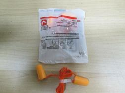 3M CORDED FOAM EAR PLUGS NEW SEALED PACK 30 SETS  PER ORDER
