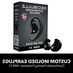 Custom Molded Earplugs Decibullz Comfortable Hearing Protect