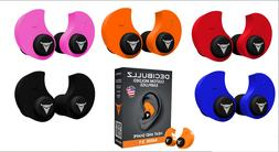 DECIBULLZ Custom Moulded Ear Plugs Hearing Protection Defend