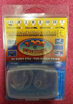 DOC'S ProPlugs Vented Earplugs 1 Clear pair with leash - XXL
