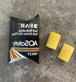 E.A.R Self-Adjusting Soft Foam Ear Plugs AOSafety Working