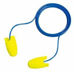 3M E-A-Rsoft Grippers Earplugs, Corded, NRR 31