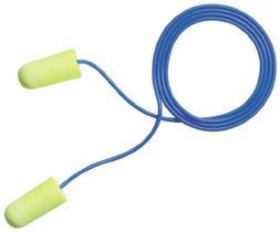 3M E-A-Rsoft Yellow Neons  Corded Earplugs, Hearing Conserva