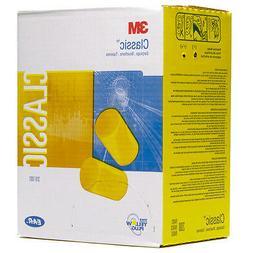 310-1001 3M E-A-R Classic Ear Plug, Yellow, Uncorded,  200-P