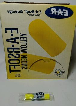 Ear Plugs,  12 pair     33dB, Cordless, Large E-A-R EAR 312-