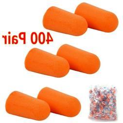 Ear Plugs 400 Pair Orange Soft Foam Value Individually Wrapp