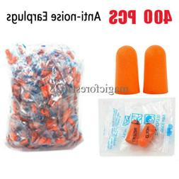EarPlugs foam soft Orange sleep travel noise shooting 400 ea