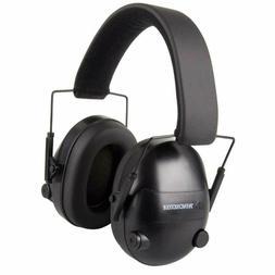WINCHESTER ELECTRONIC EARMUFFS - 25DB, BLACK WIN99779