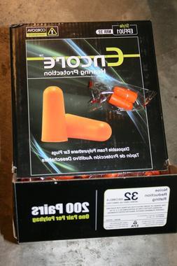 Cordova EPFU01 Encore Uncorded Disposable Ear Plugs, Foam PU