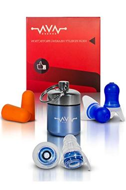 NEW Pro Vibes High Fidelity Ear Plugs - Professional Noise C