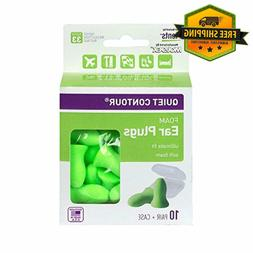 FLENTS QUIET CONTOUR EAR PLUGS  NRR 33 Hot Sale
