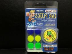 Putty Buddies Floating Earplugs for Swimming and Bathing, 3-